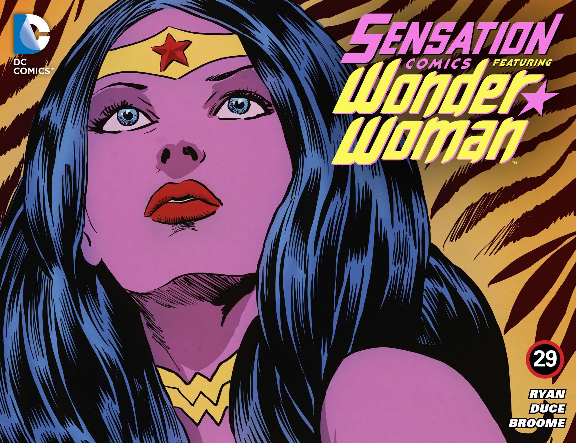 Read online Sensation Comics Featuring Wonder Woman comic -  Issue #29 - 1