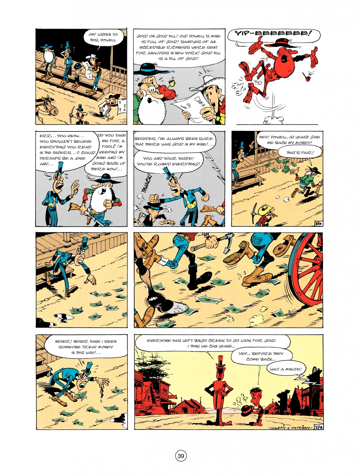 Read online A Lucky Luke Adventure comic -  Issue #2 - 41