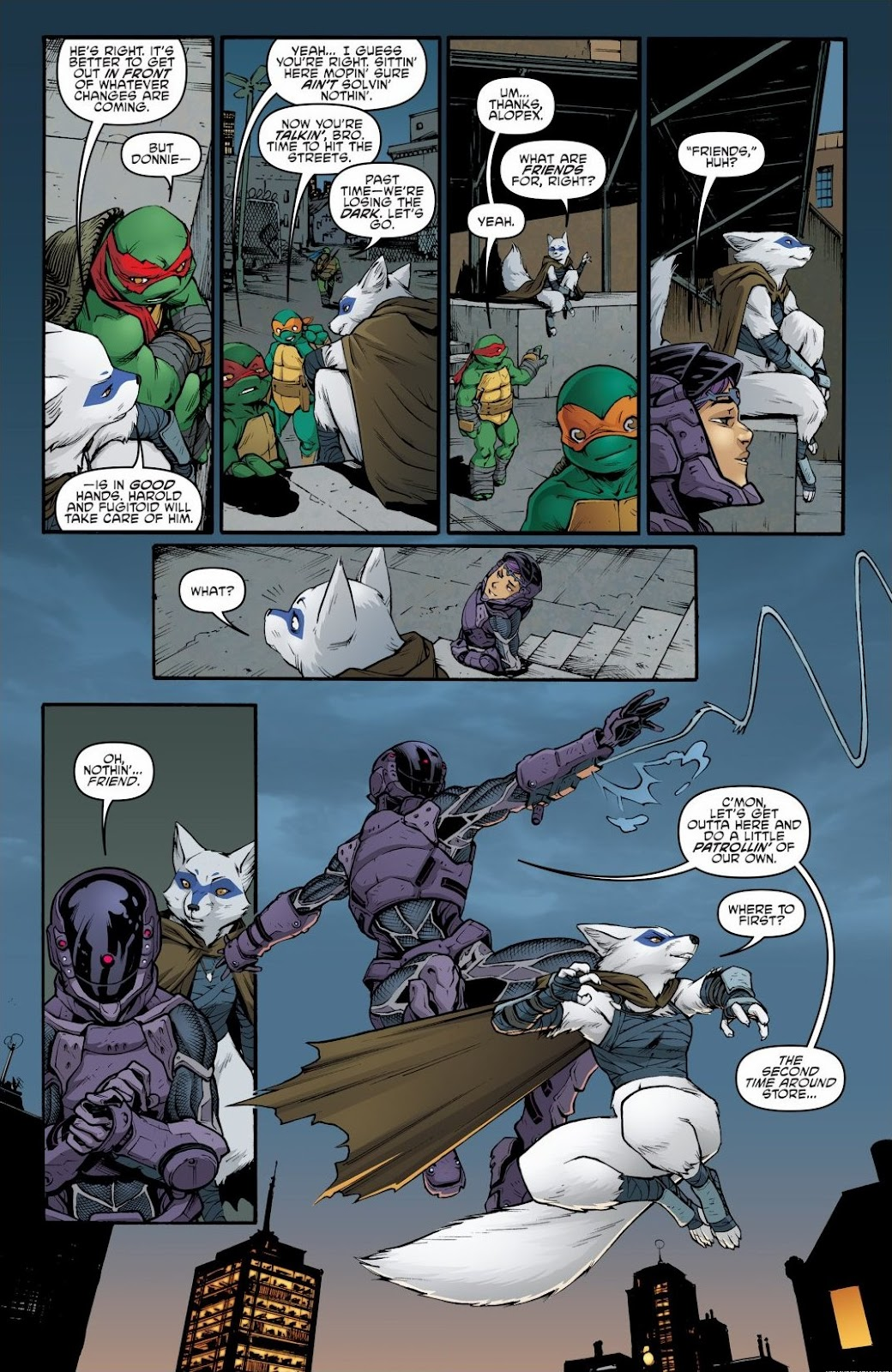 Read online Teenage Mutant Ninja Turtles: The IDW Collection comic -  Issue # TPB 6 (Part 2) - 29