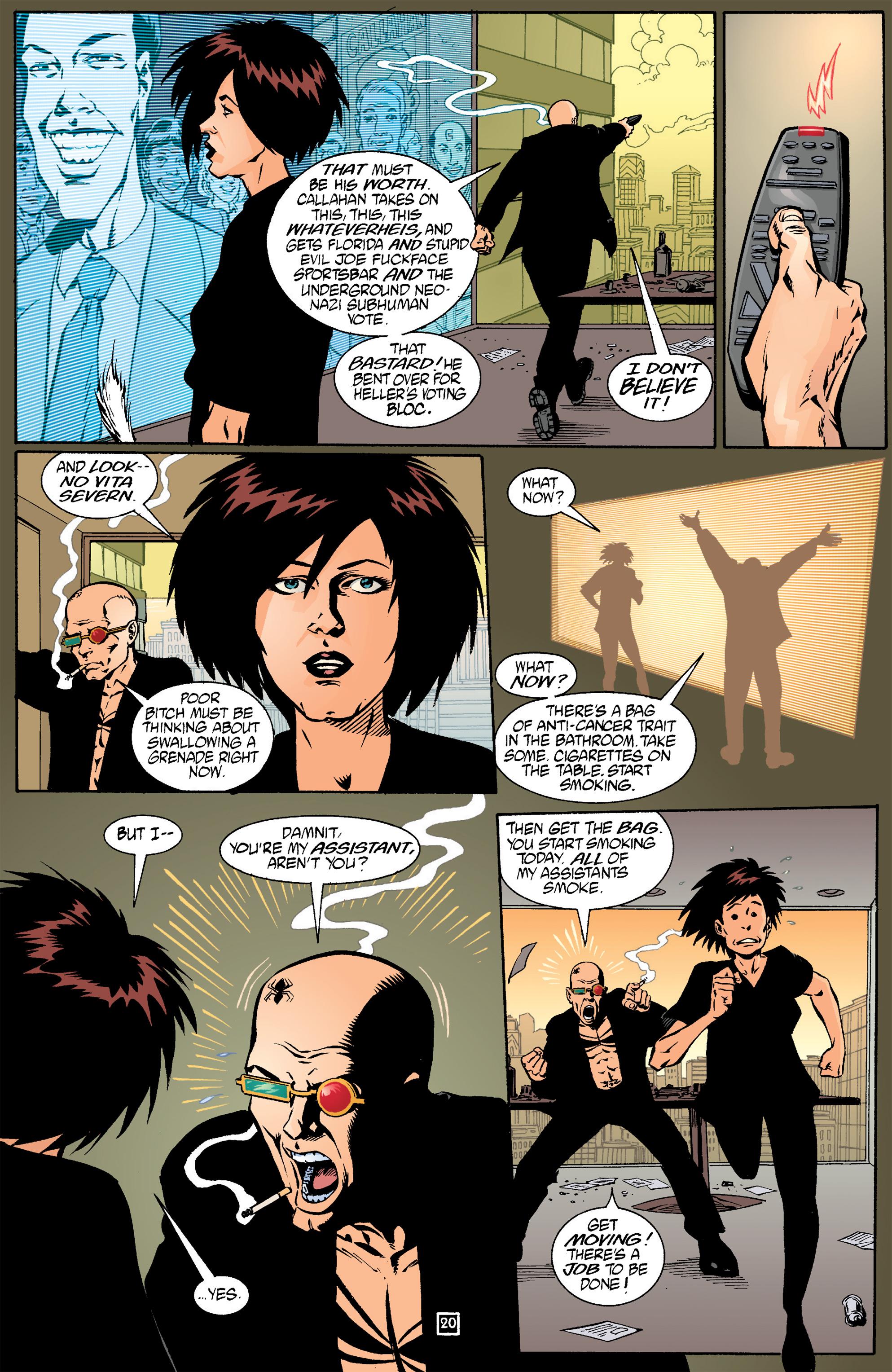Read online Transmetropolitan comic -  Issue #17 - 21