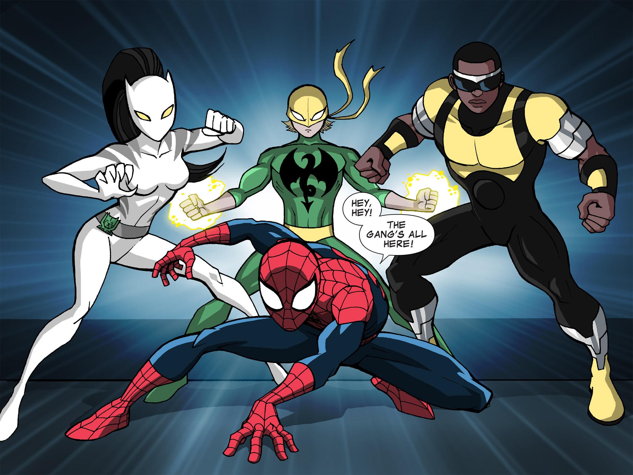 Read online Ultimate Spider-Man (Infinite Comics) (2015) comic -  Issue #19 - 20