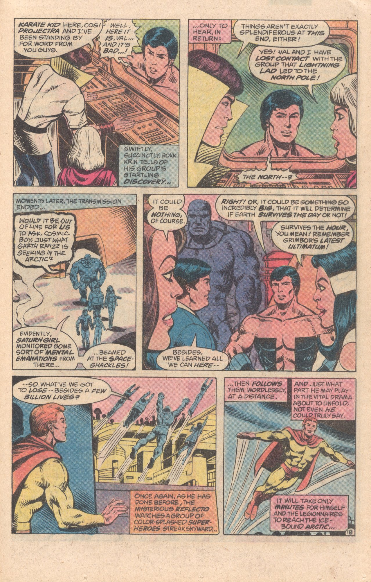 Legion of Super-Heroes (1980) 278 Page 18