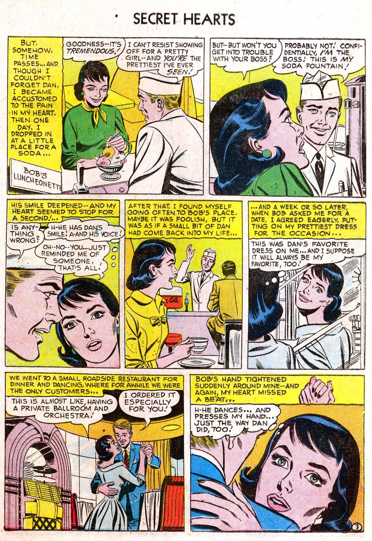 Read online Secret Hearts comic -  Issue #38 - 19