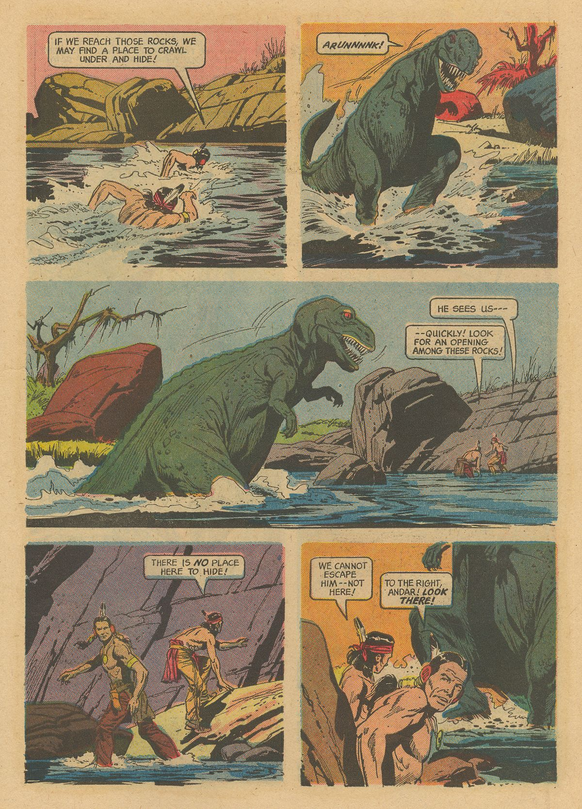 Read online Turok, Son of Stone comic -  Issue #52 - 7