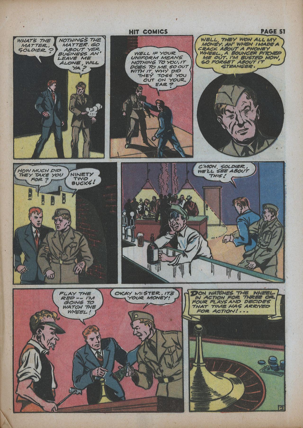 Read online Hit Comics comic -  Issue #26 - 52