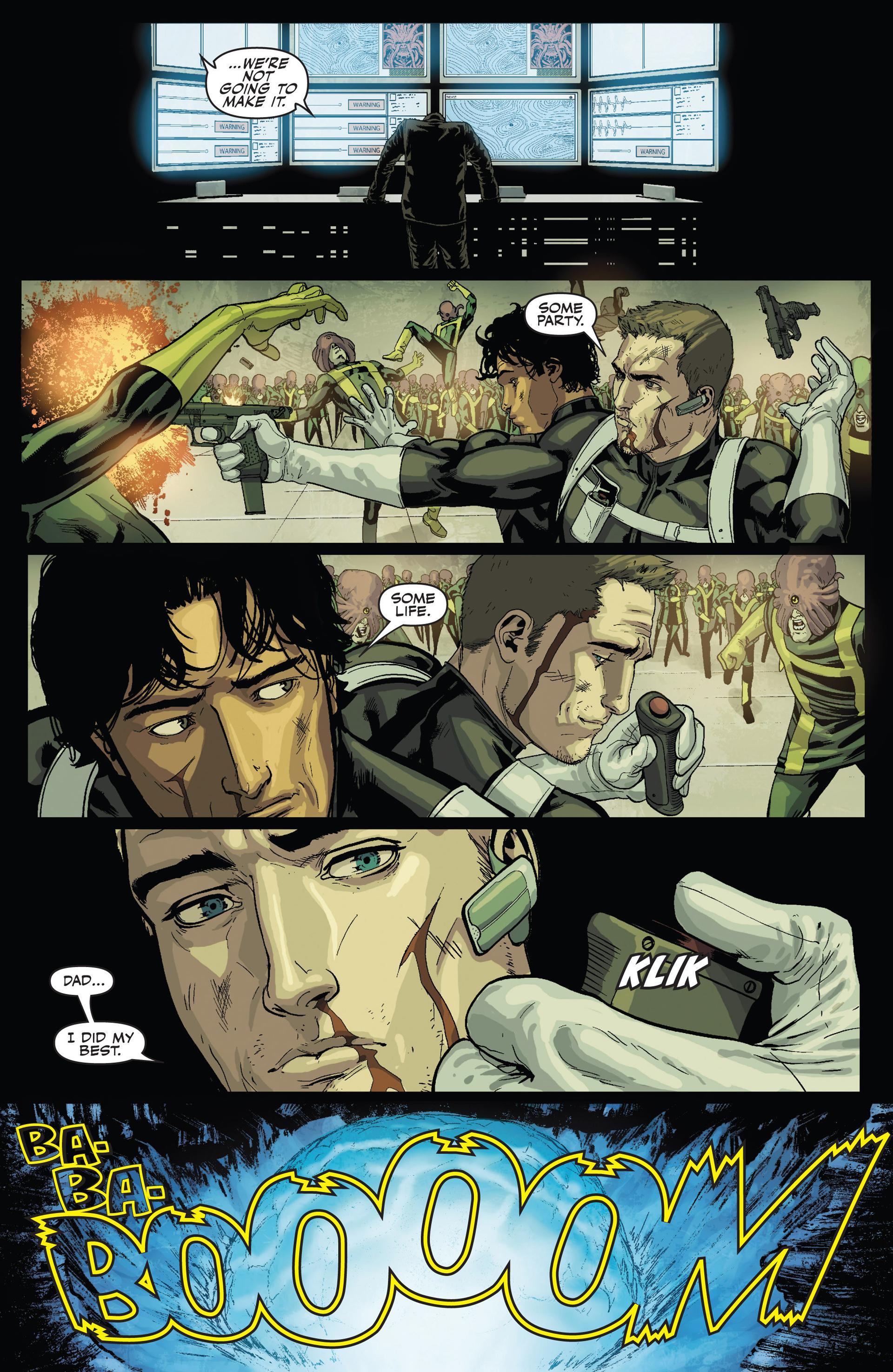 Read online Secret Warriors comic -  Issue #24 - 22