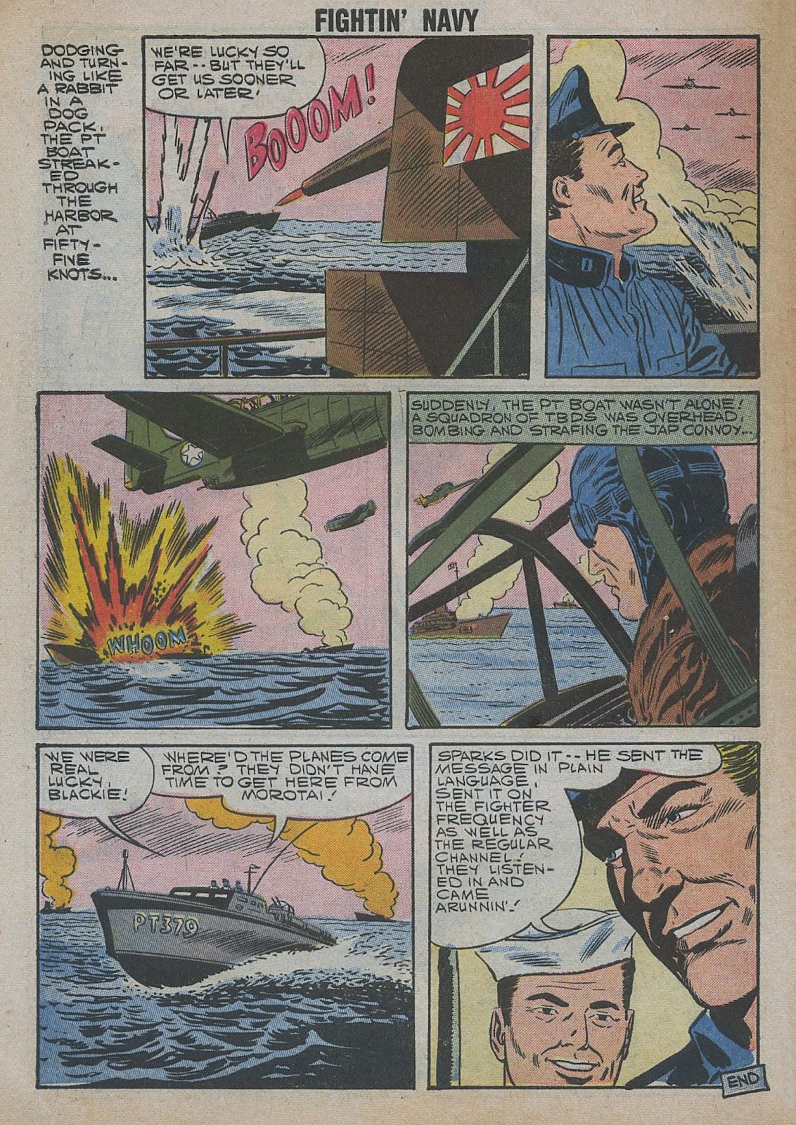 Read online Fightin' Navy comic -  Issue #82 - 10