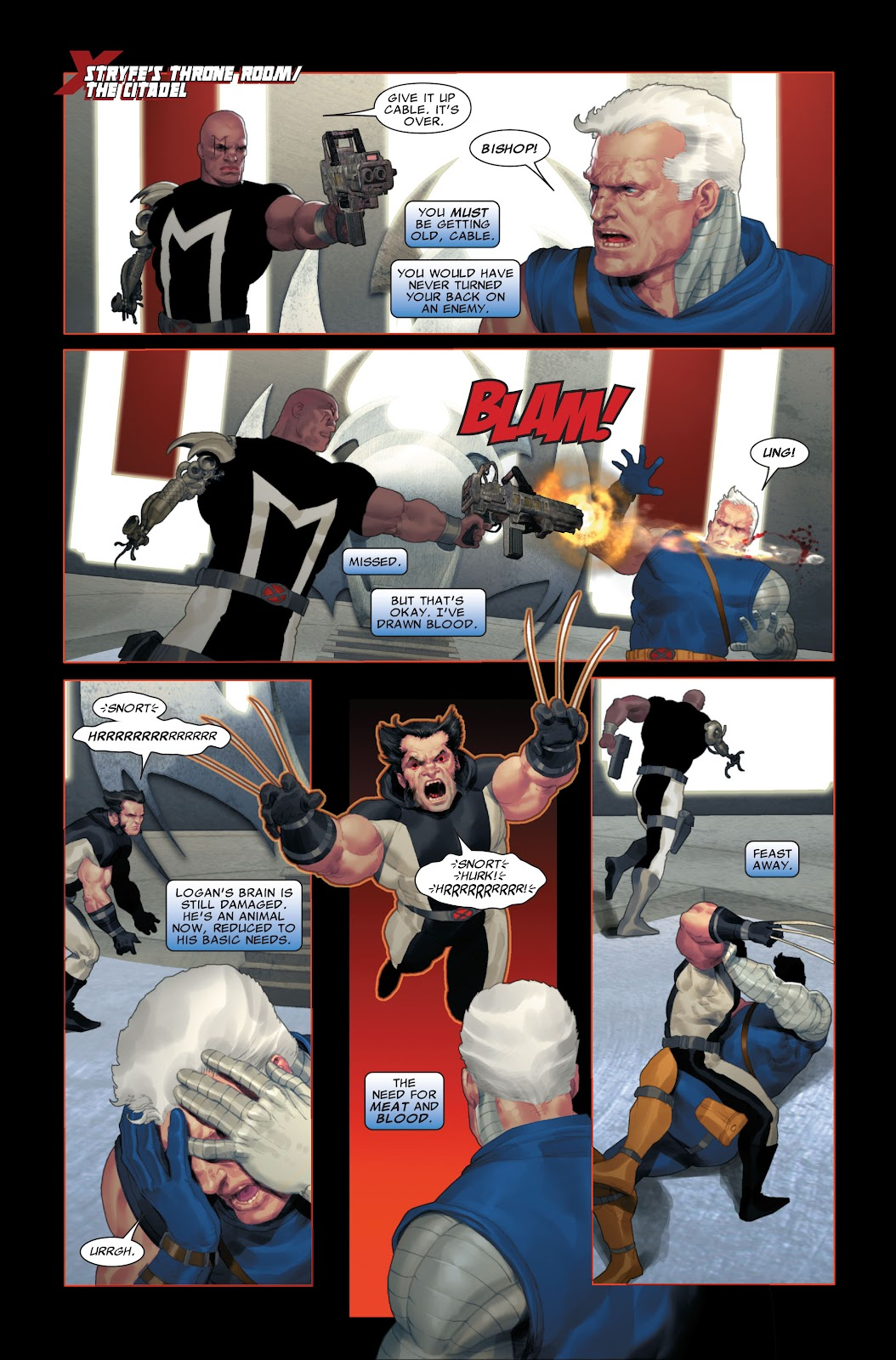 Read online X-Force/Cable: Messiah War comic -  Issue # _TPB (Part 2) - 102