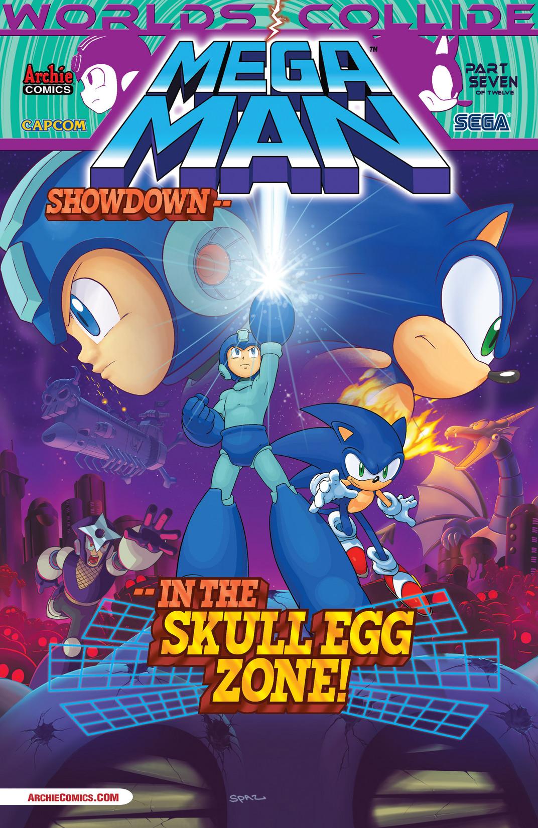 Read online Sonic Mega Man Worlds Collide comic -  Issue # Vol 2 - 58