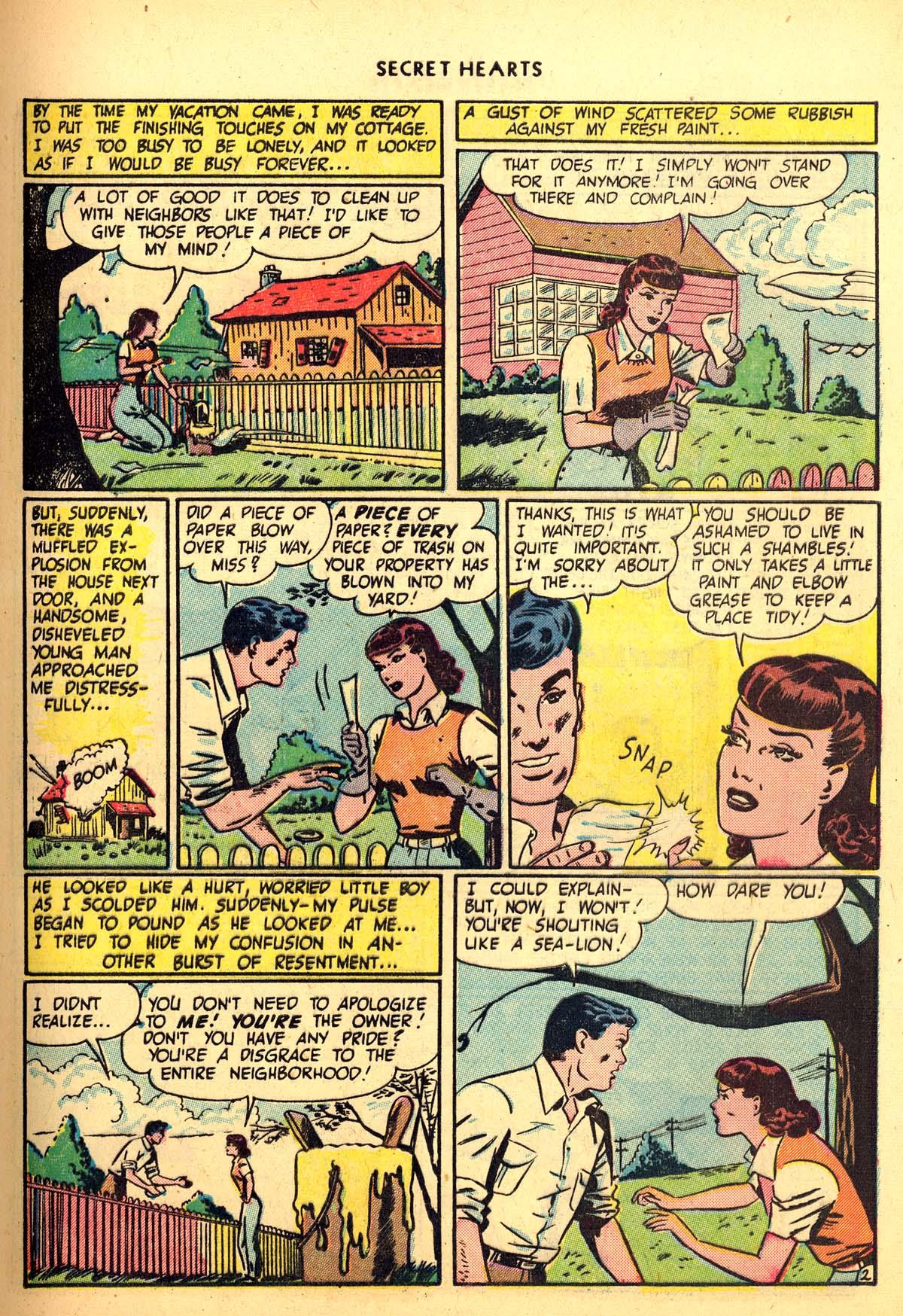 Read online Secret Hearts comic -  Issue #6 - 13