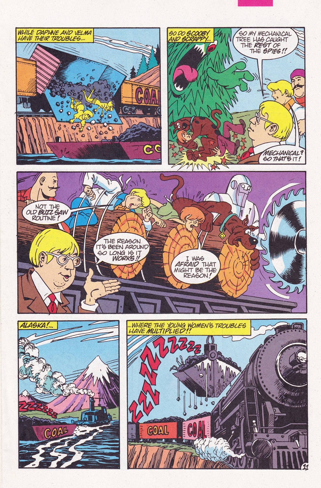Read online Scooby-Doo (1995) comic -  Issue #6 - 15