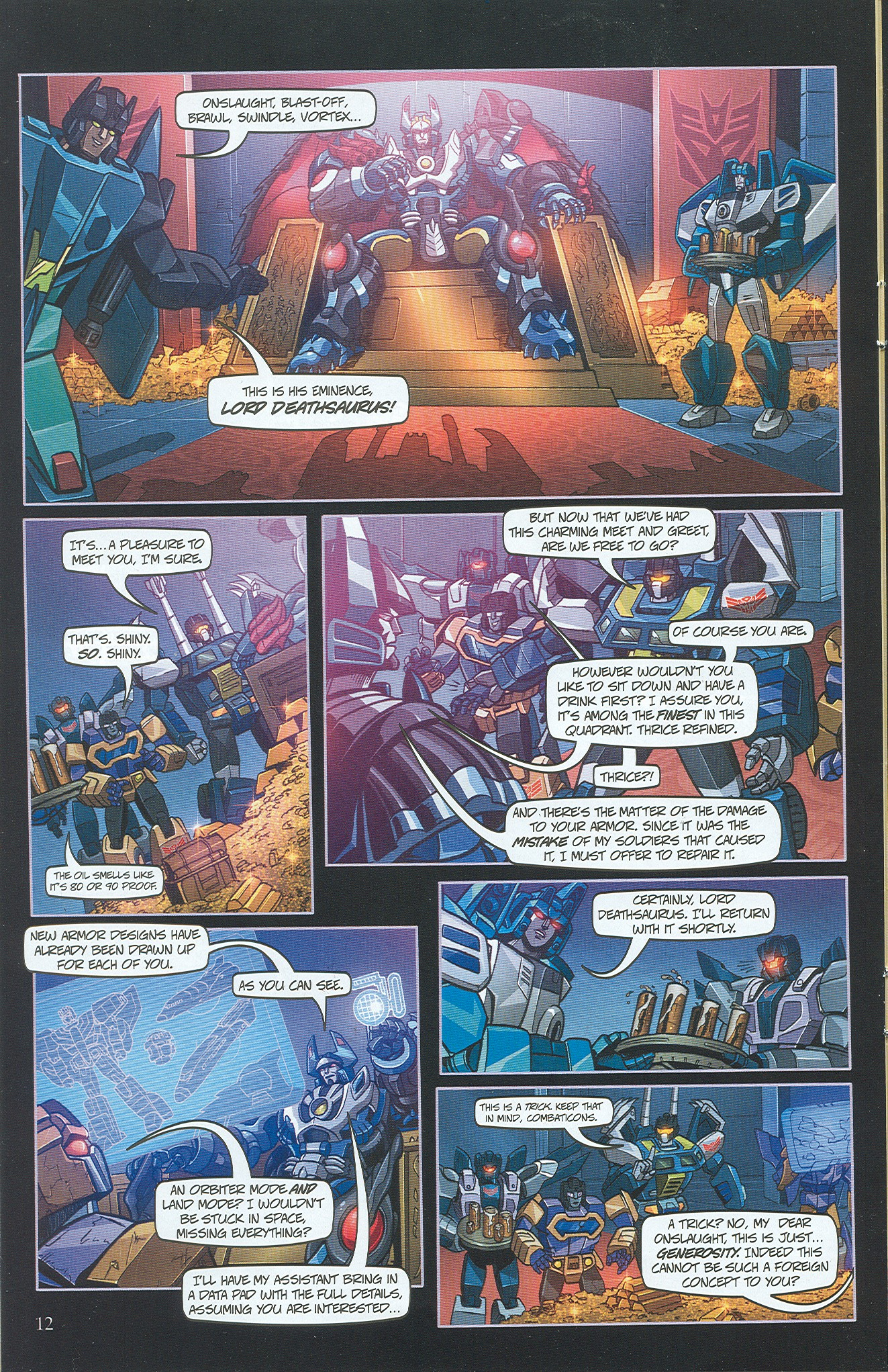 Read online Transformers: Collectors' Club comic -  Issue #34 - 12