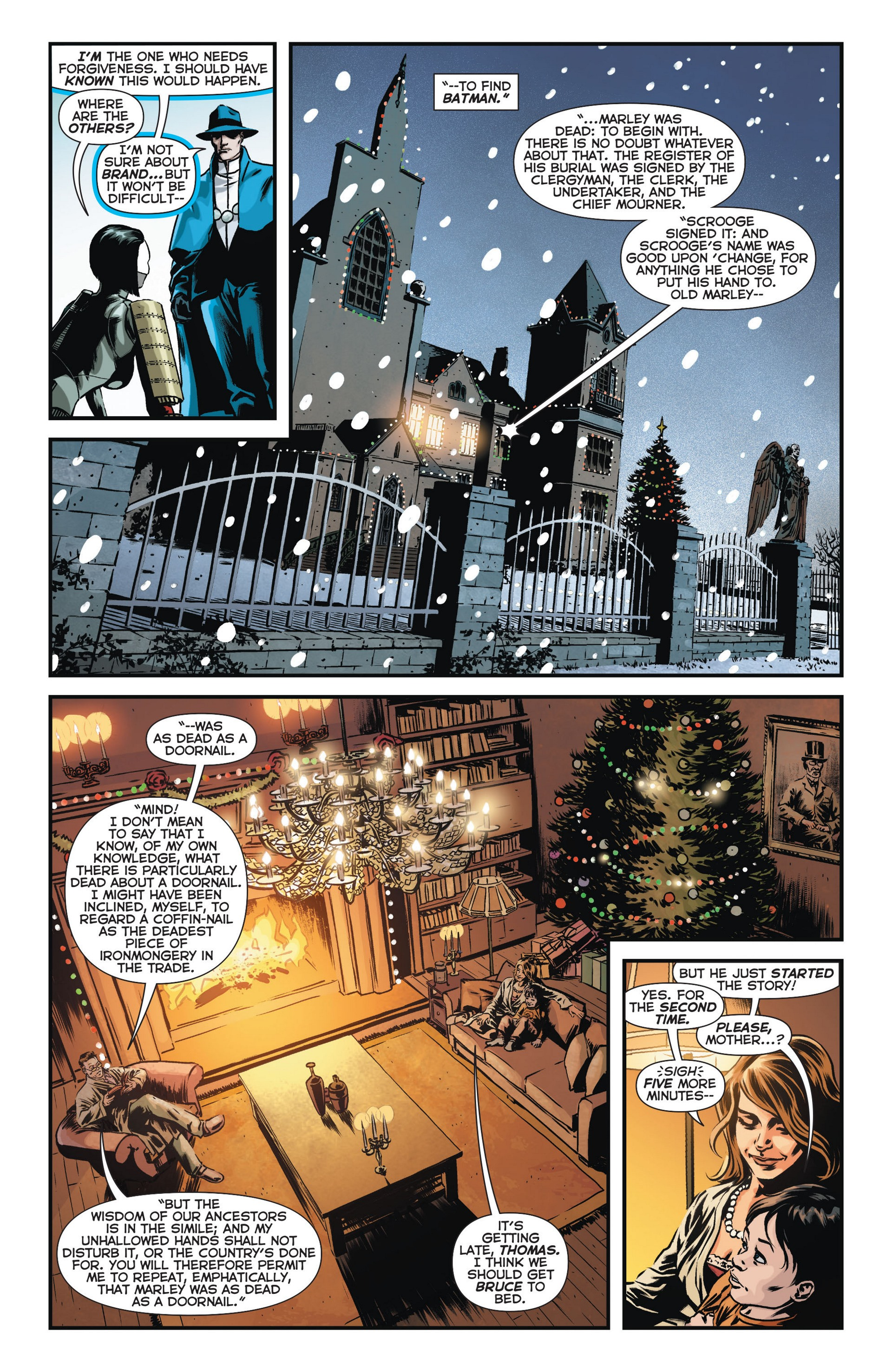 Read online Trinity of Sin: The Phantom Stranger comic -  Issue #11 - 13