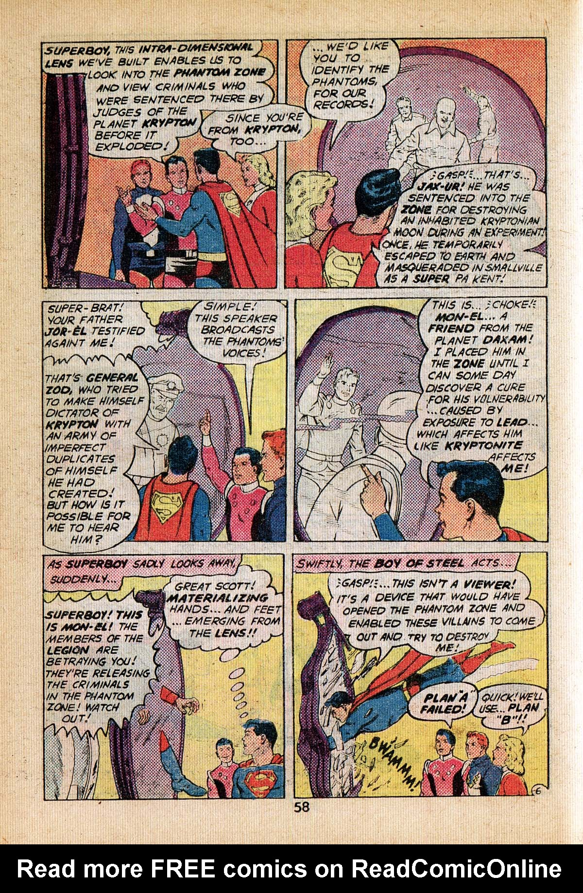 Read online Adventure Comics (1938) comic -  Issue #495 - 58