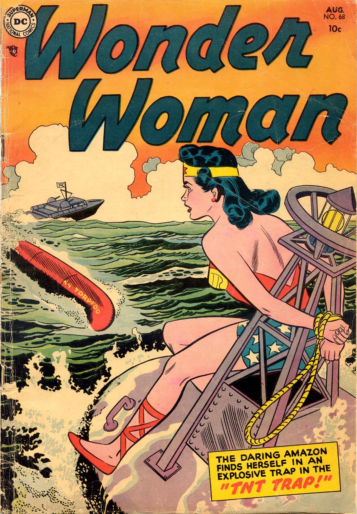 Read online Wonder Woman (1942) comic -  Issue #68 - 1