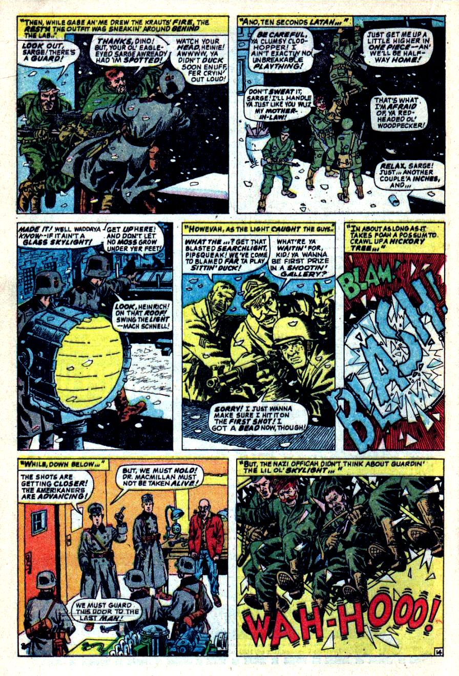 Read online Sgt. Fury comic -  Issue #44 - 20