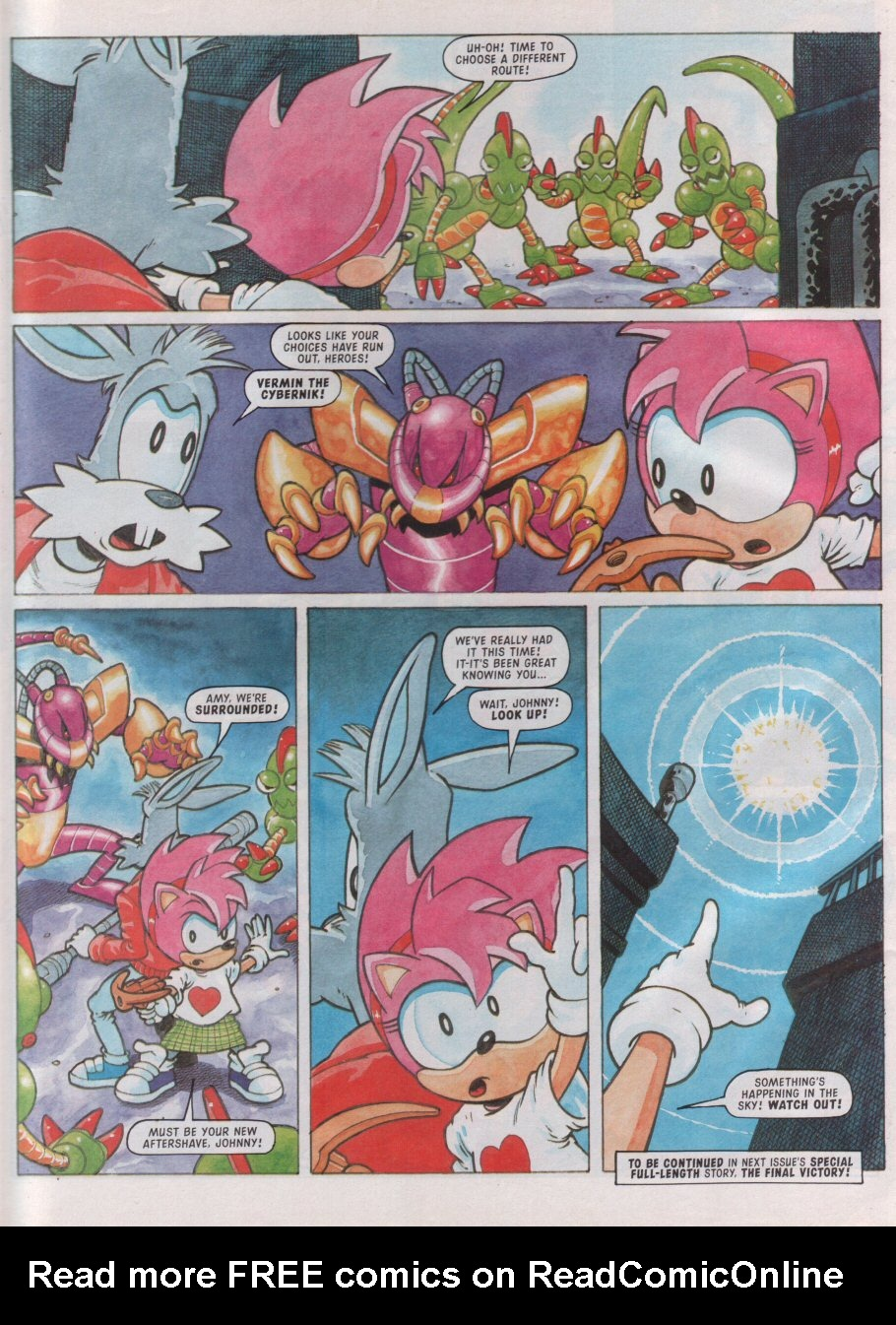 Read online Sonic the Comic comic -  Issue #99 - 26
