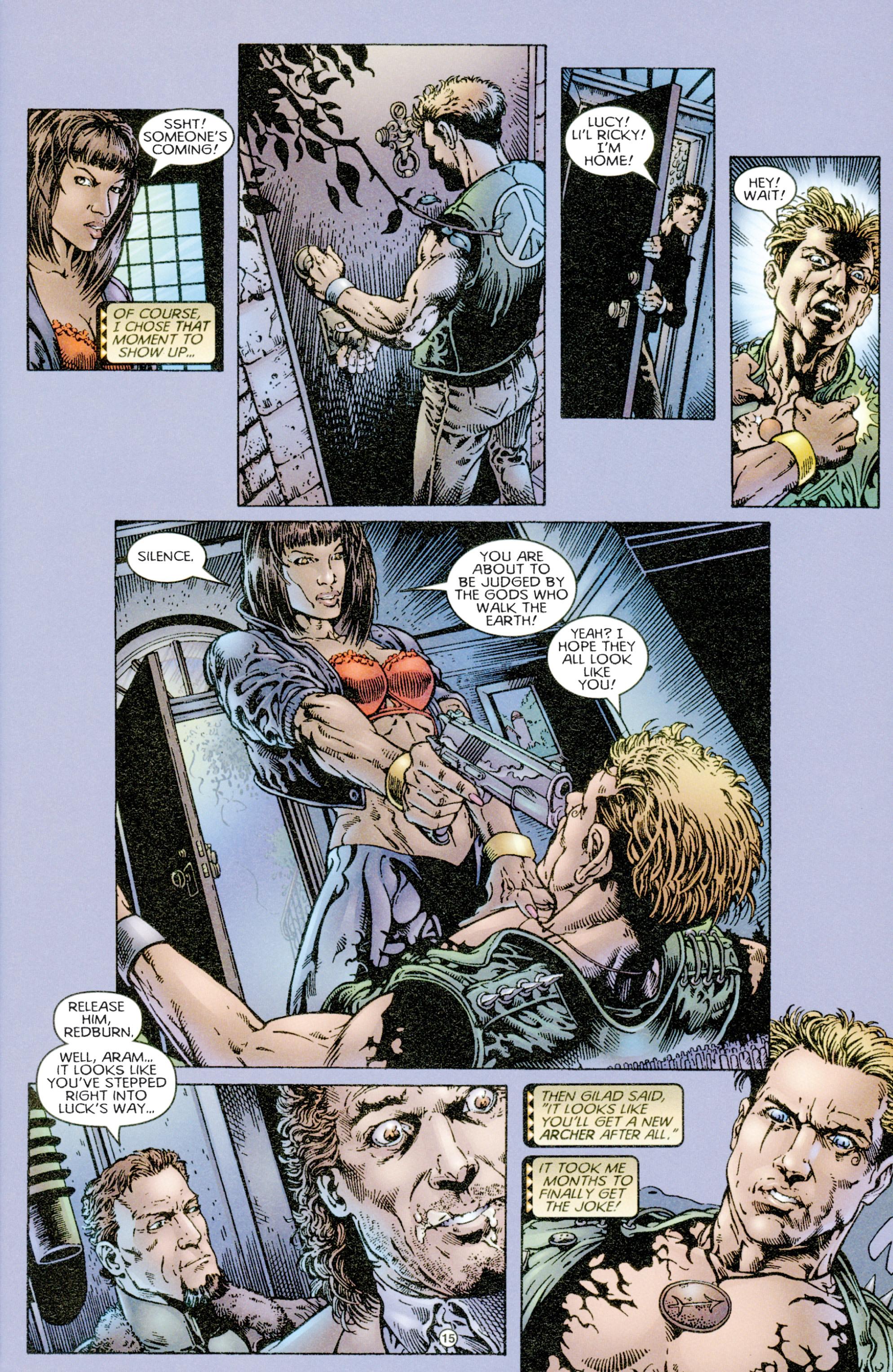Read online Eternal Warriors comic -  Issue # Issue Time & Treachery - 14