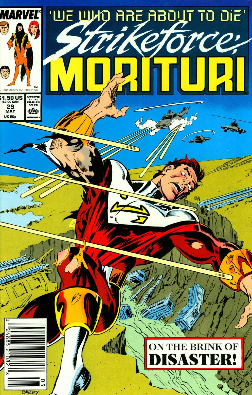 Strikeforce: Morituri 29 Page 1
