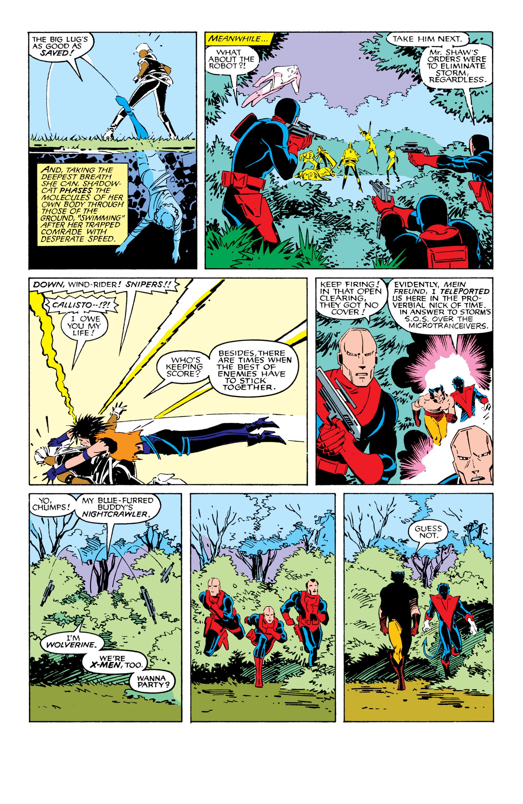 Read online Uncanny X-Men (1963) comic -  Issue #209 - 6