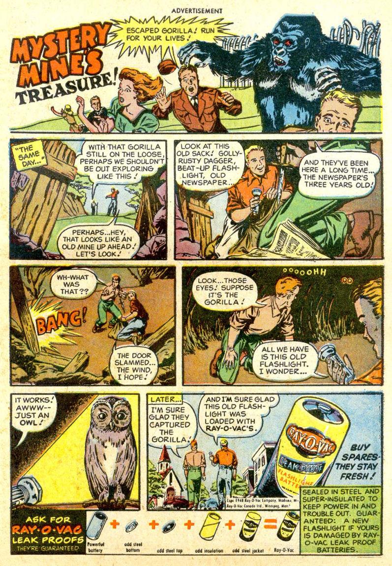 Read online Sensation (Mystery) Comics comic -  Issue #85 - 38