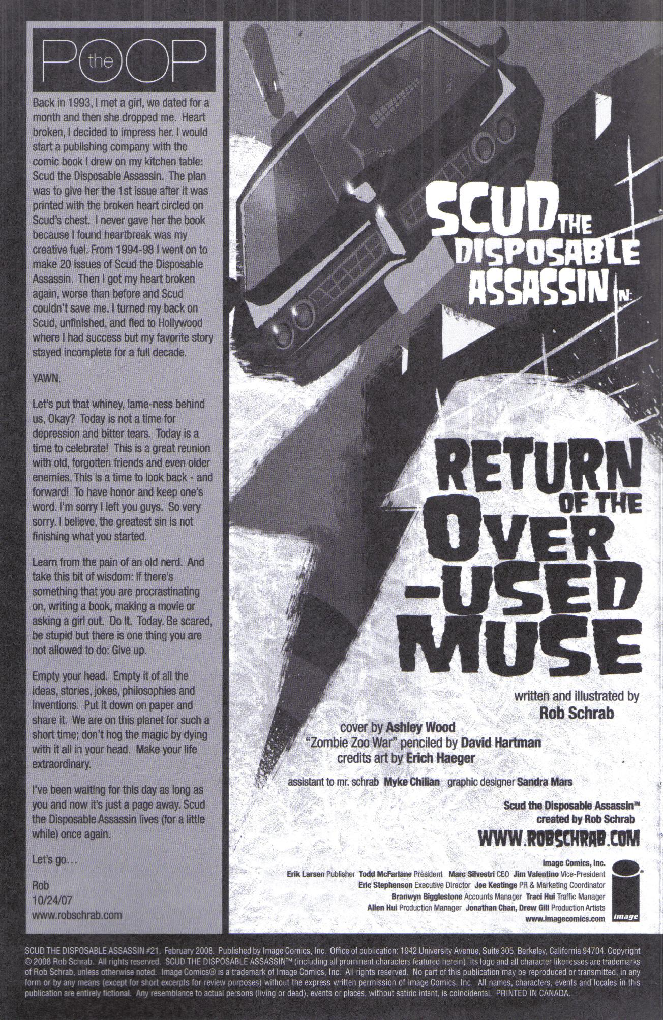 Read online Scud: The Disposable Assassin (2008) comic -  Issue #1 - 2