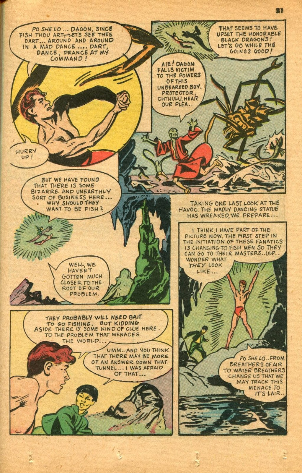 Read online Super-Magician Comics comic -  Issue #46 - 31