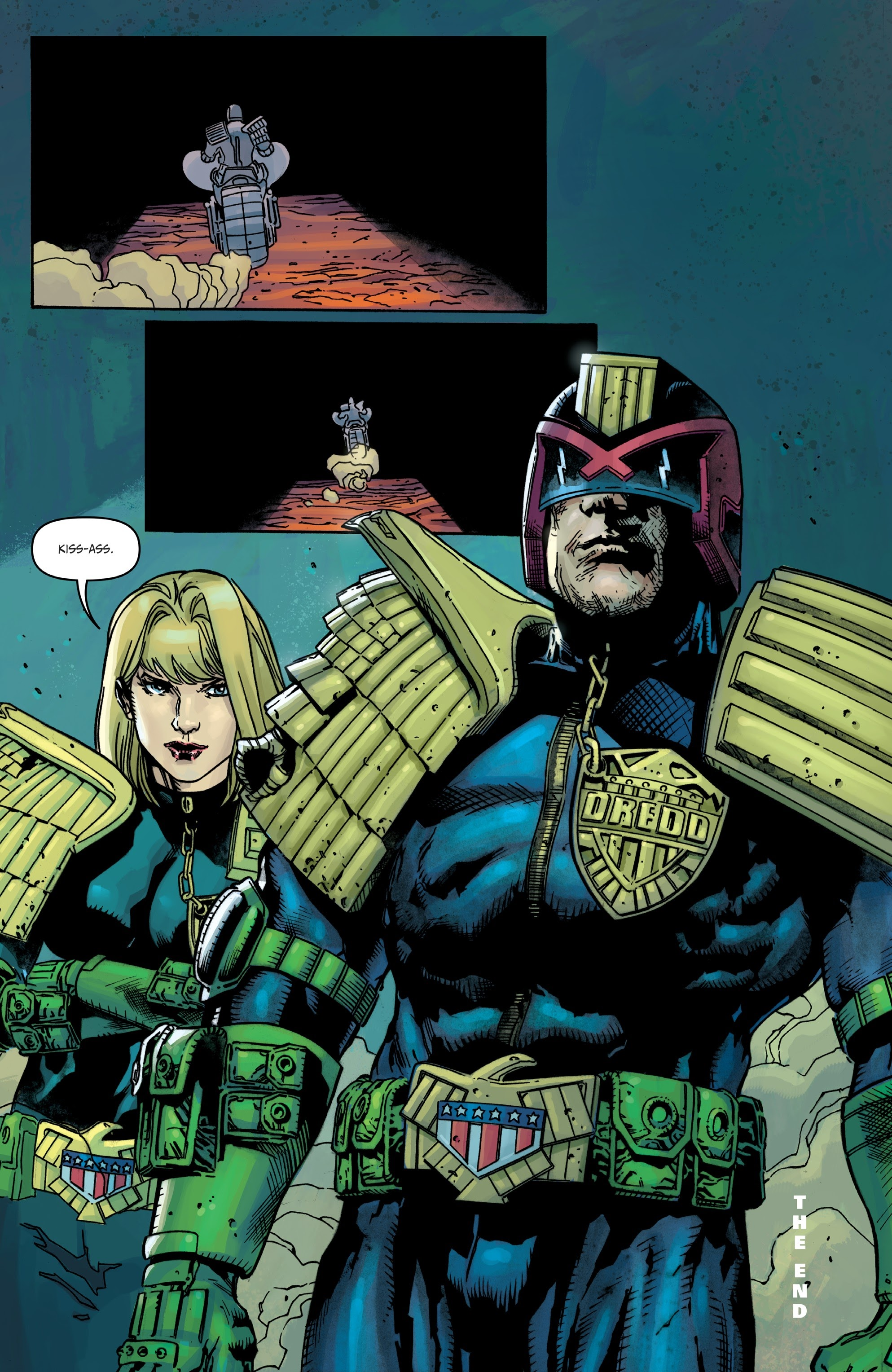Judge Dredd: Toxic #4 #4 - English 22