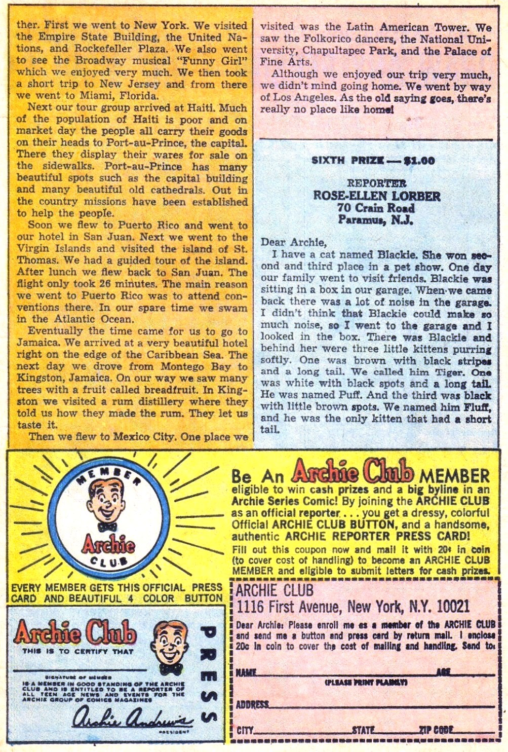 Read online Archie (1960) comic -  Issue #171 - 11