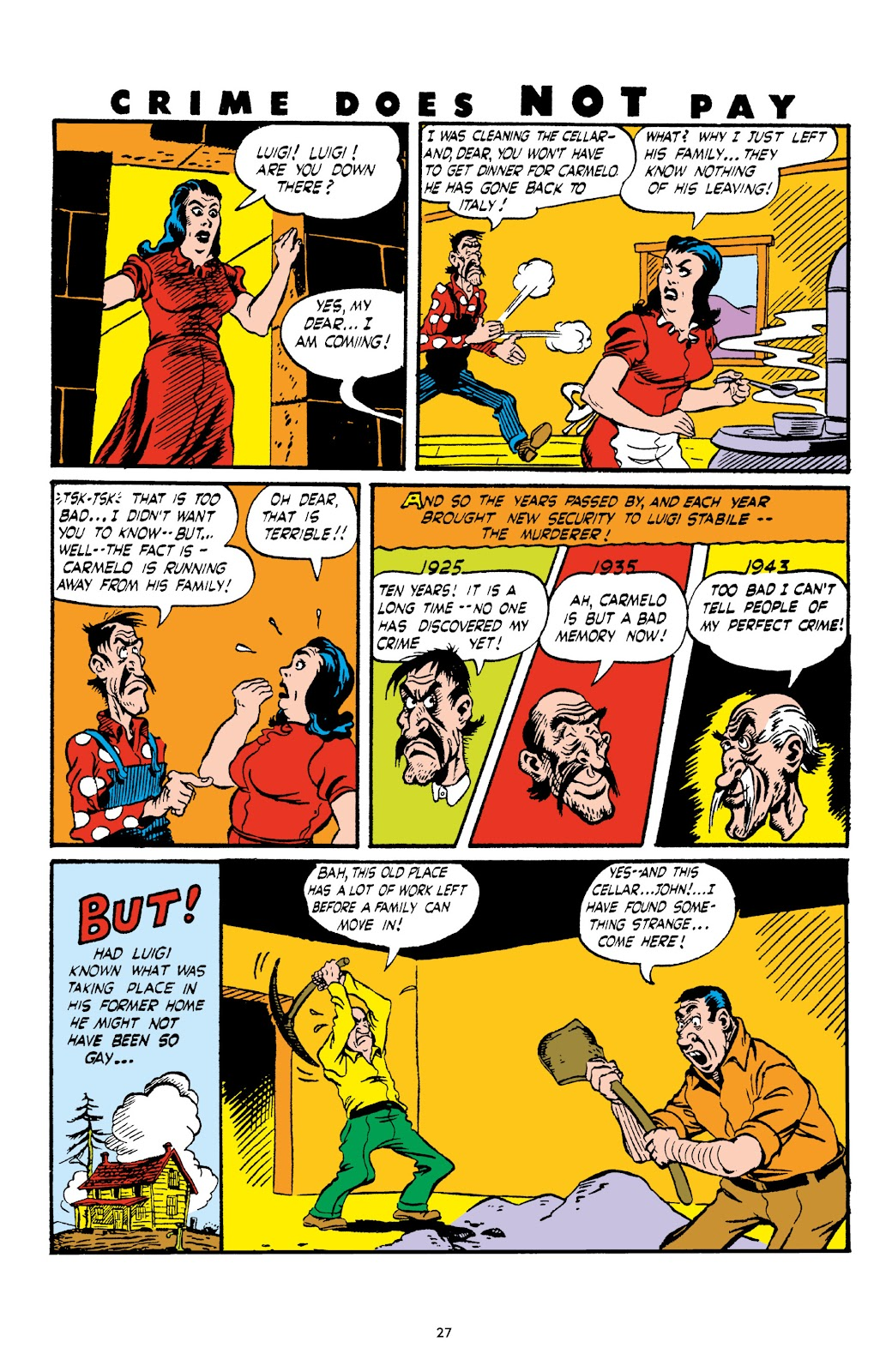 Read online Crime Does Not Pay Archives comic -  Issue # TPB 4 (Part 1) - 27