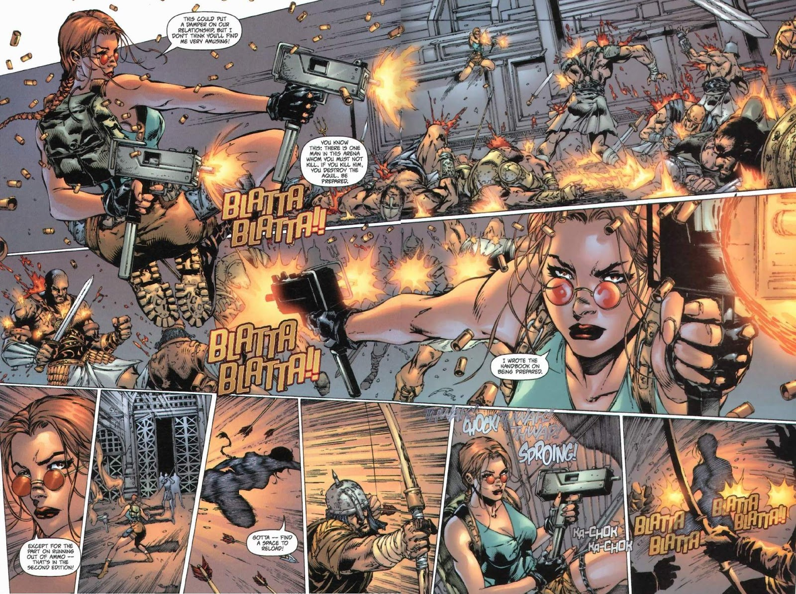 Read online Tomb Raider: The Series comic -  Issue #0 - 14