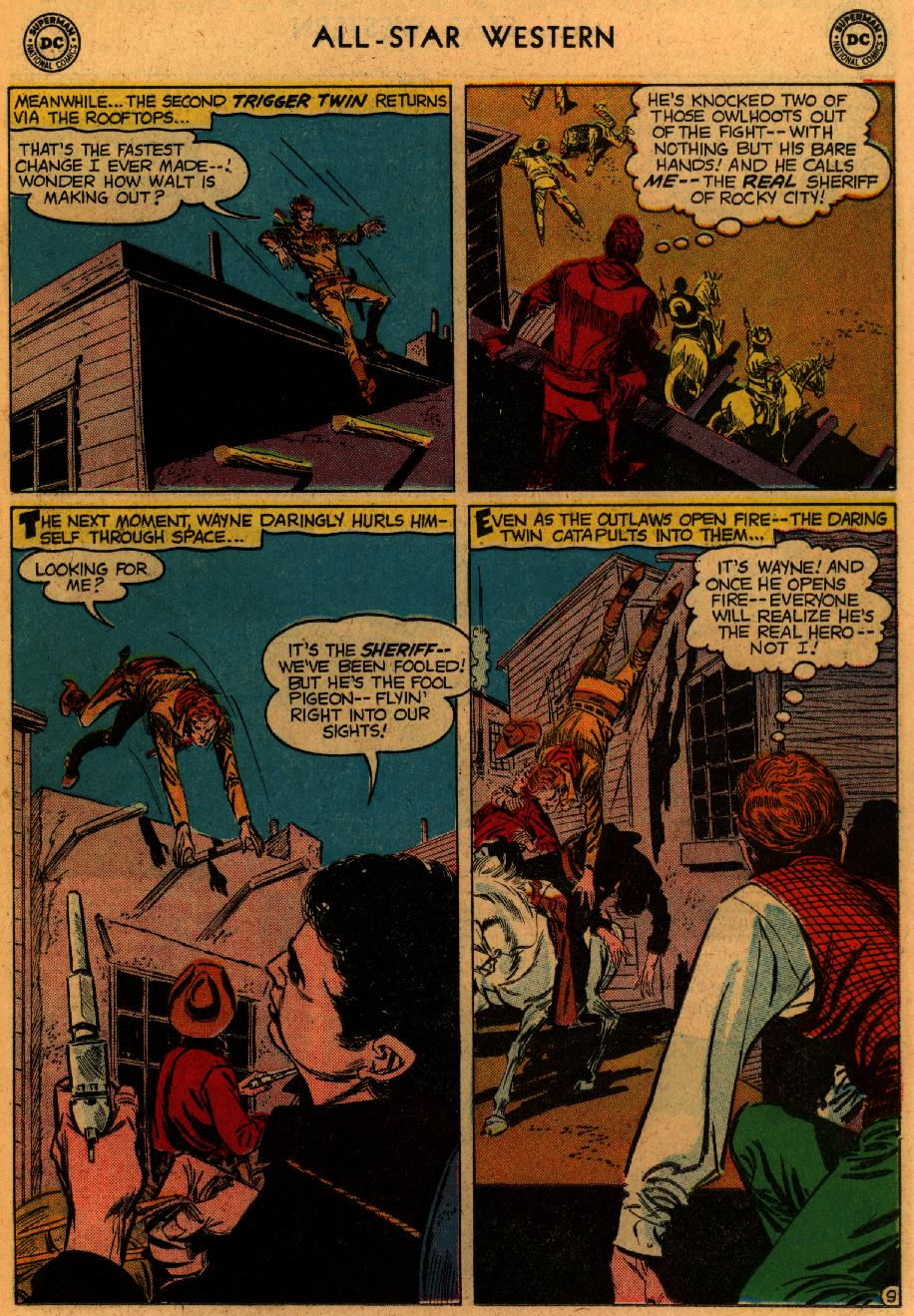 Read online All-Star Western (1951) comic -  Issue #102 - 11