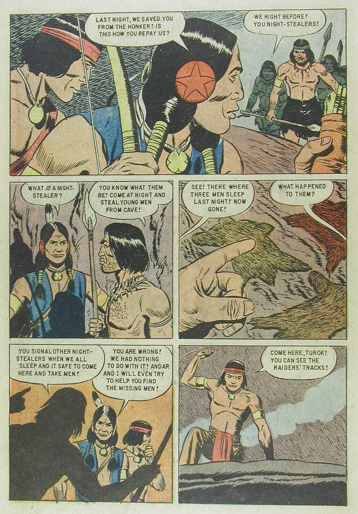 Read online Turok, Son of Stone comic -  Issue #13 - 6