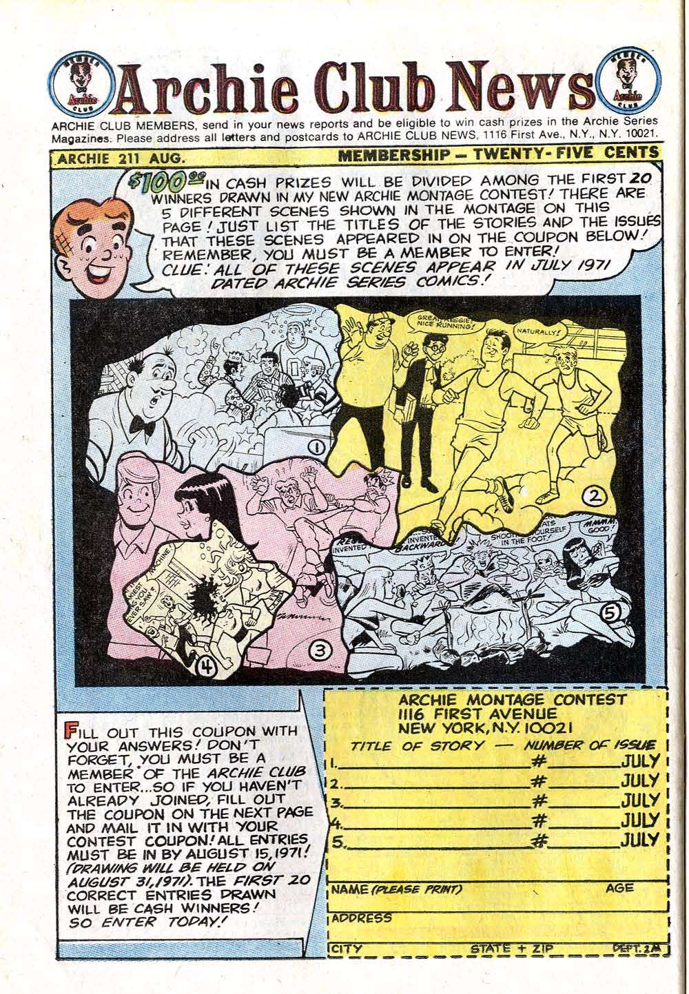 Read online Archie (1960) comic -  Issue #211 - 26