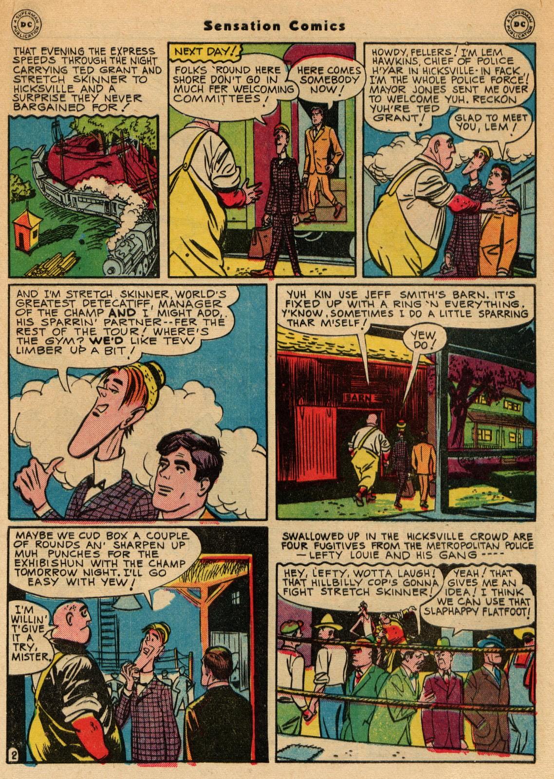 Read online Sensation (Mystery) Comics comic -  Issue #51 - 43