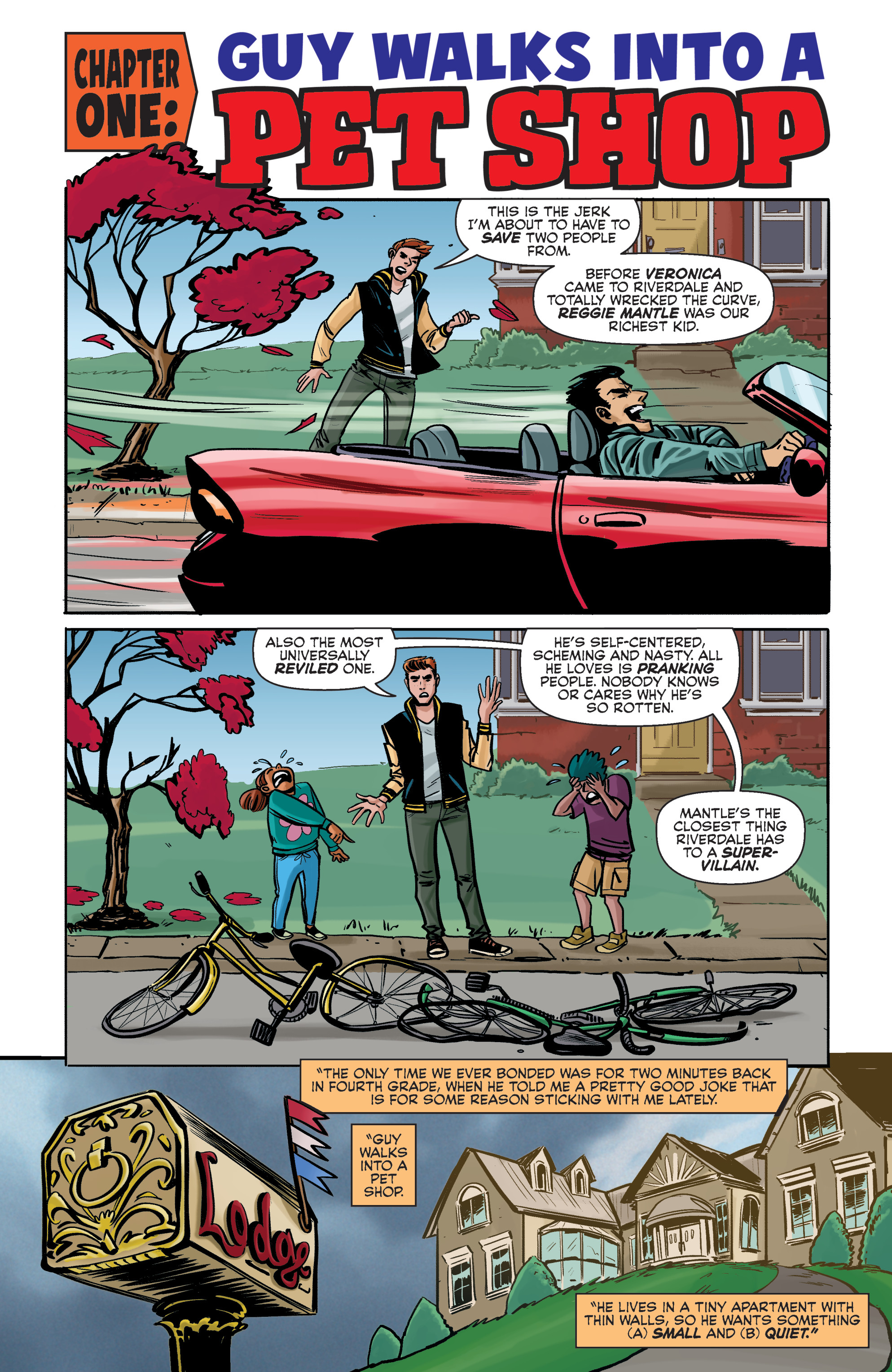 Read online Archie (2015) comic -  Issue #5 - 4
