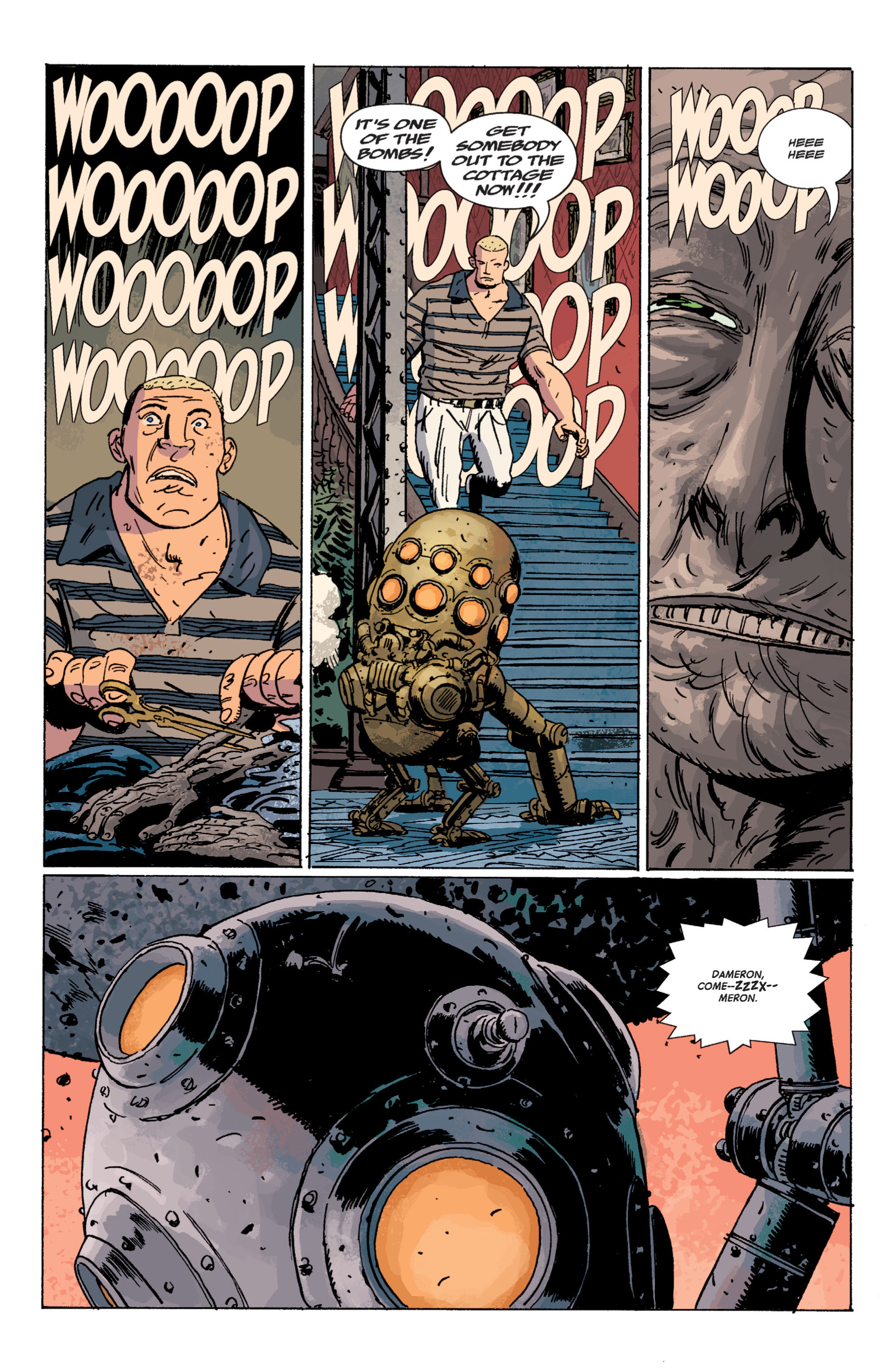 Read online B.P.R.D. (2003) comic -  Issue # TPB 7 - 114
