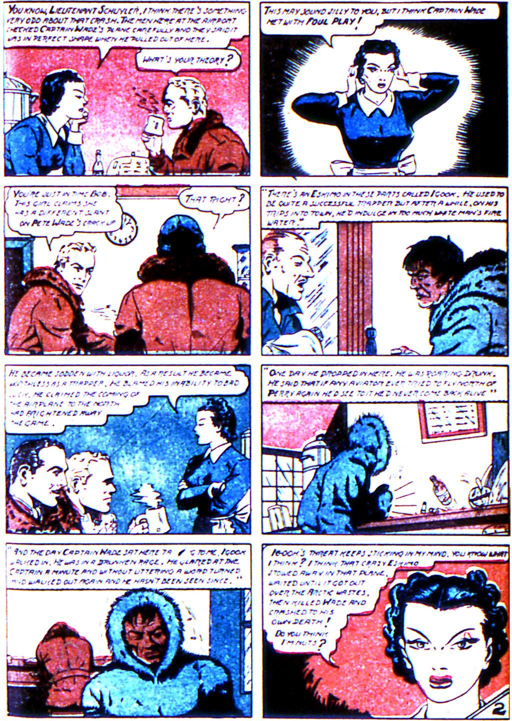 Read online Adventure Comics (1938) comic -  Issue #44 - 45