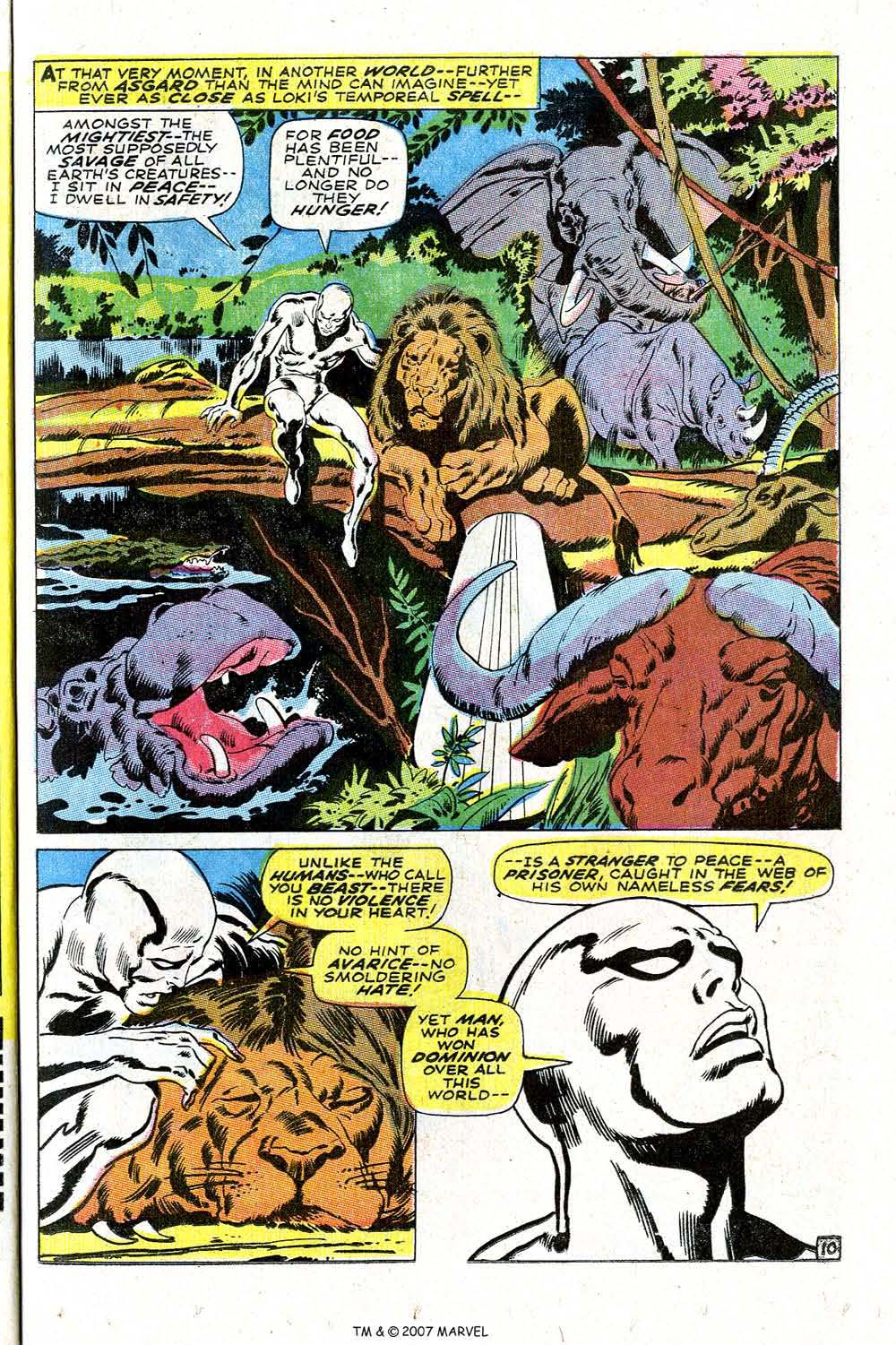 Read online Silver Surfer (1968) comic -  Issue #4 - 13