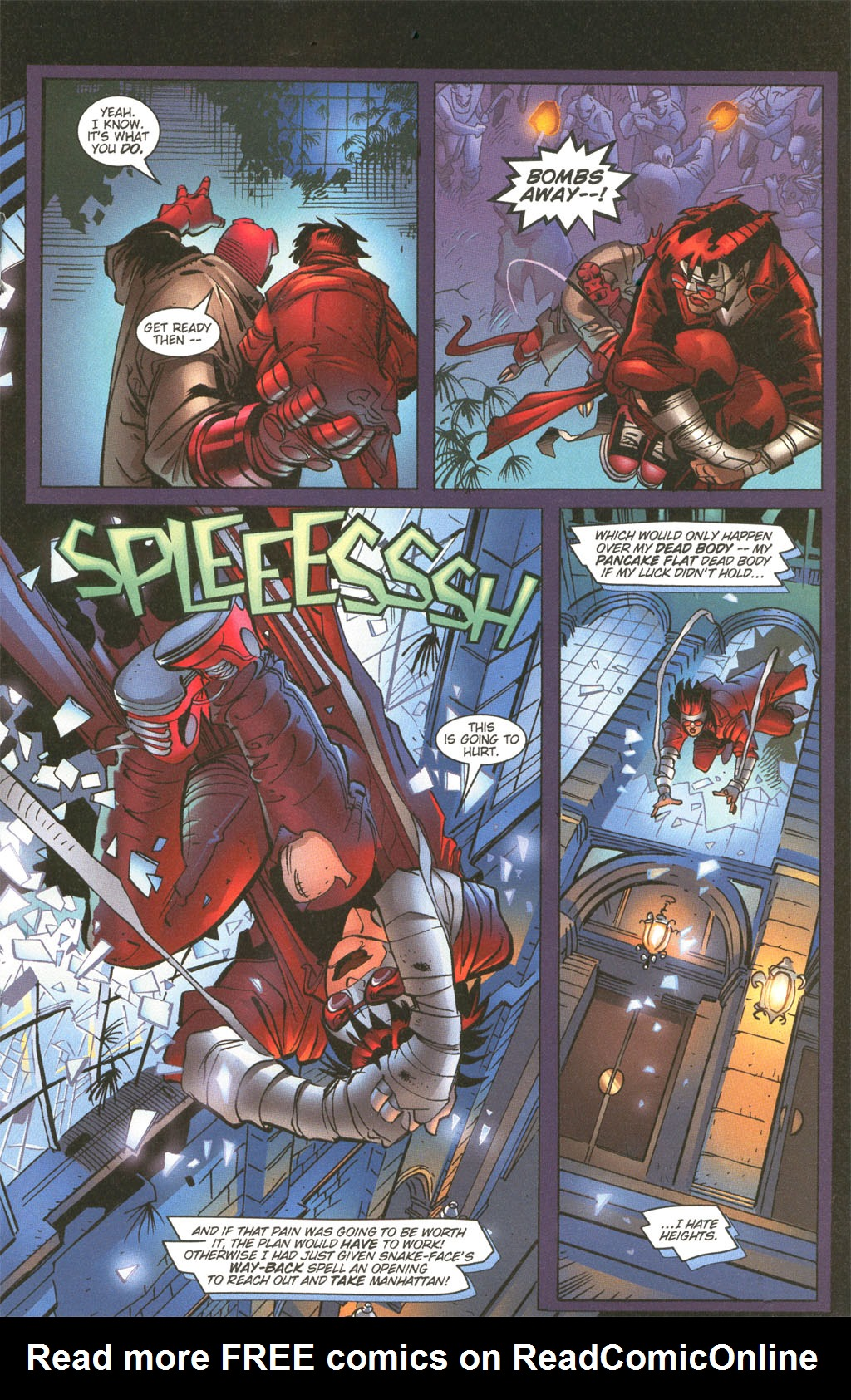 Read online Painkiller Jane/Hellboy comic -  Issue # Full - 19