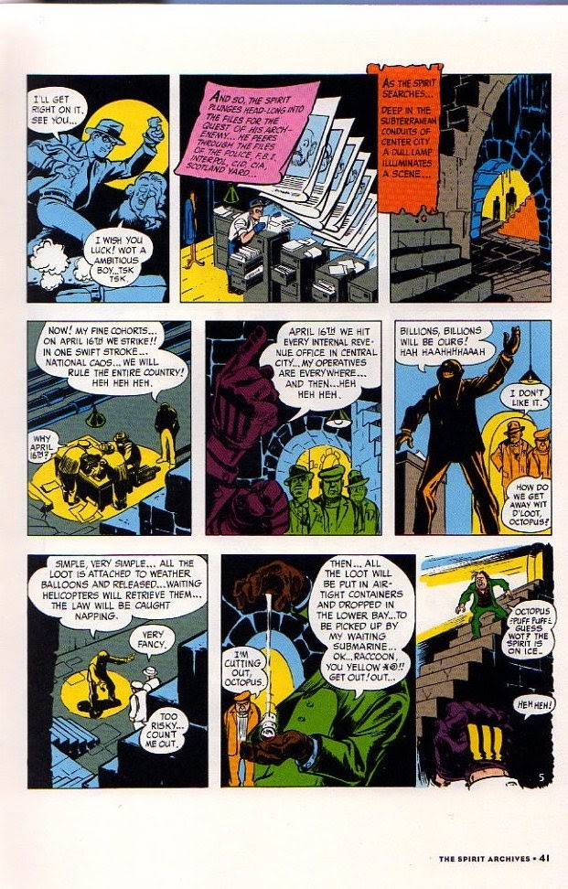 Read online Will Eisner's The Spirit Archives comic -  Issue # TPB 26 (Part 1) - 48