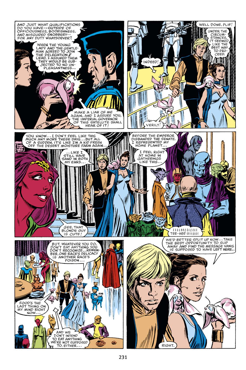 Read online Star Wars Omnibus comic -  Issue # Vol. 18 - 217