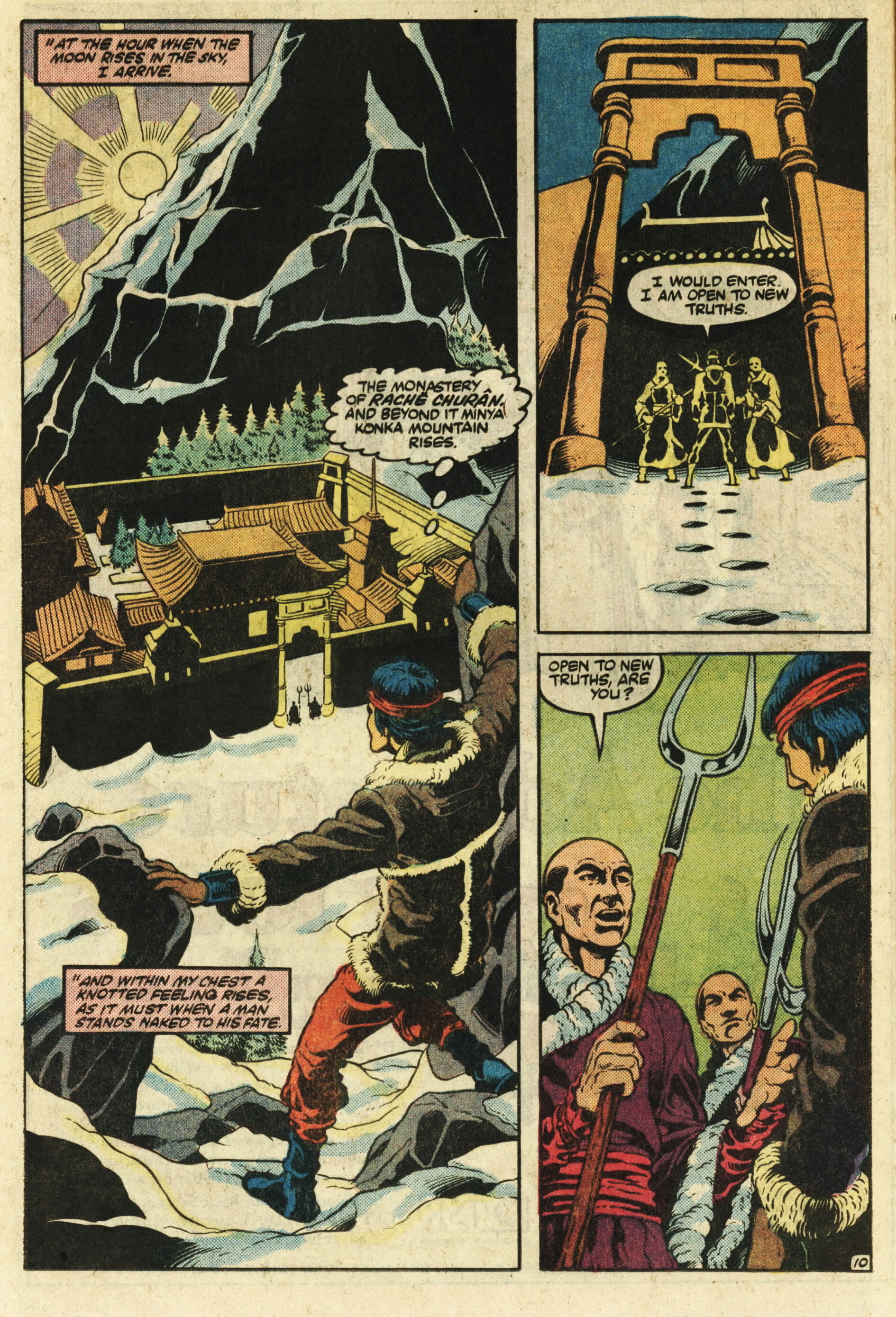 Read online Master of Kung Fu (1974) comic -  Issue #124 - 11