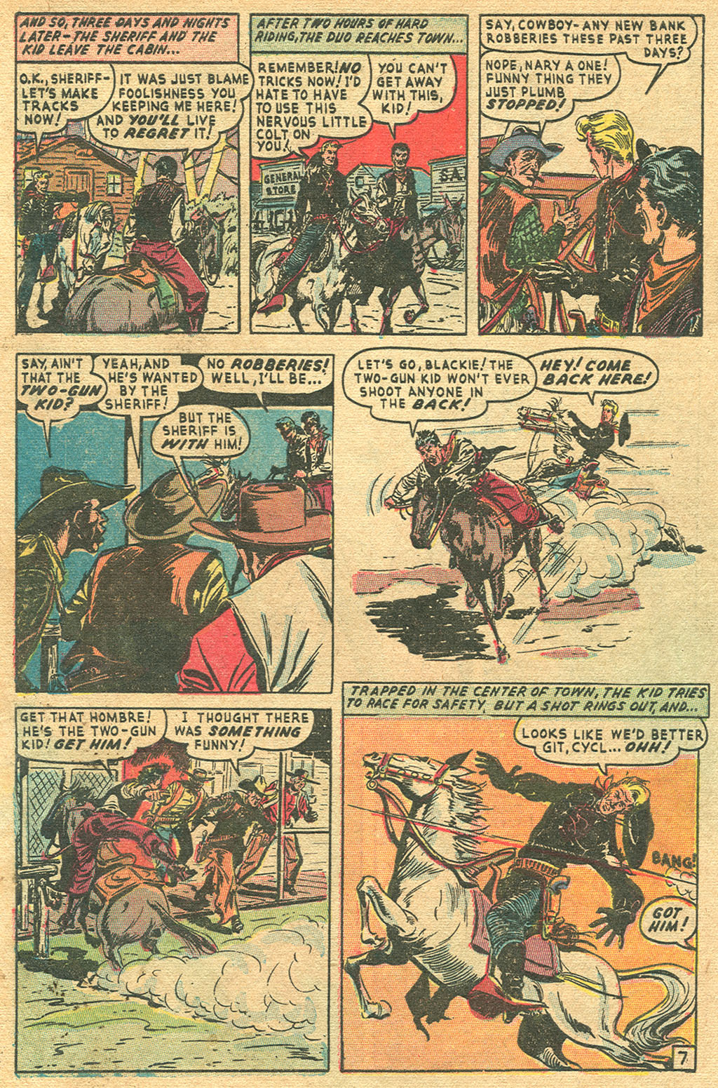 Read online Two-Gun Kid comic -  Issue #1 - 28