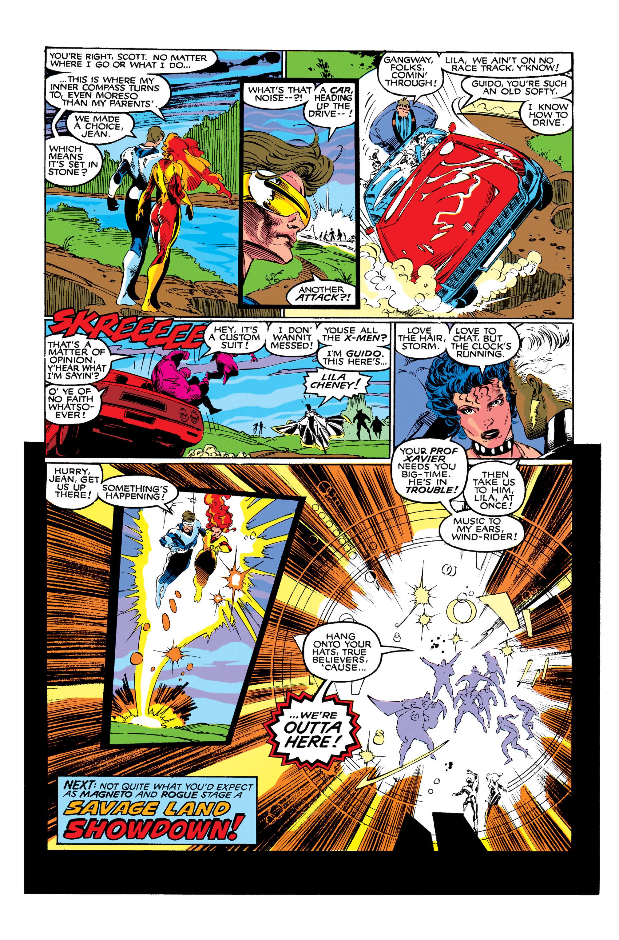 Read online Uncanny X-Men (1963) comic -  Issue #273 - 24
