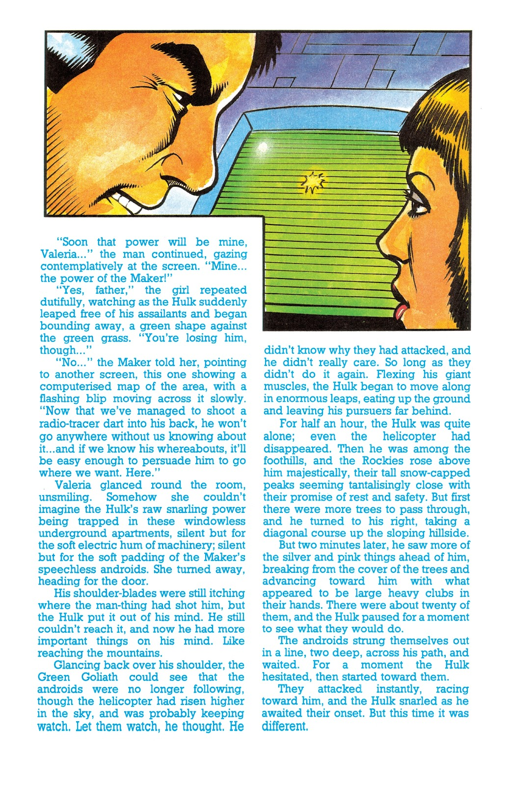 Read online Hulk: From The Marvel UK Vaults comic -  Issue # TPB (Part 3) - 18