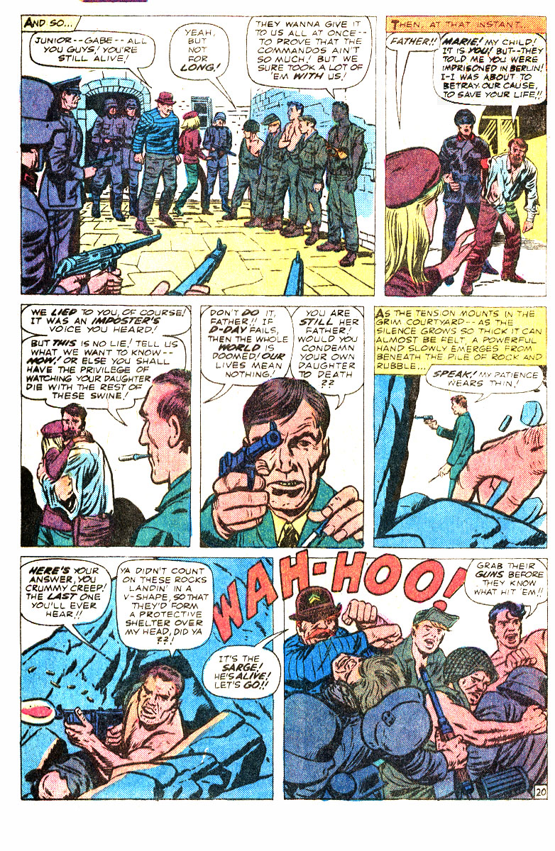Read online Sgt. Fury comic -  Issue #167 - 33
