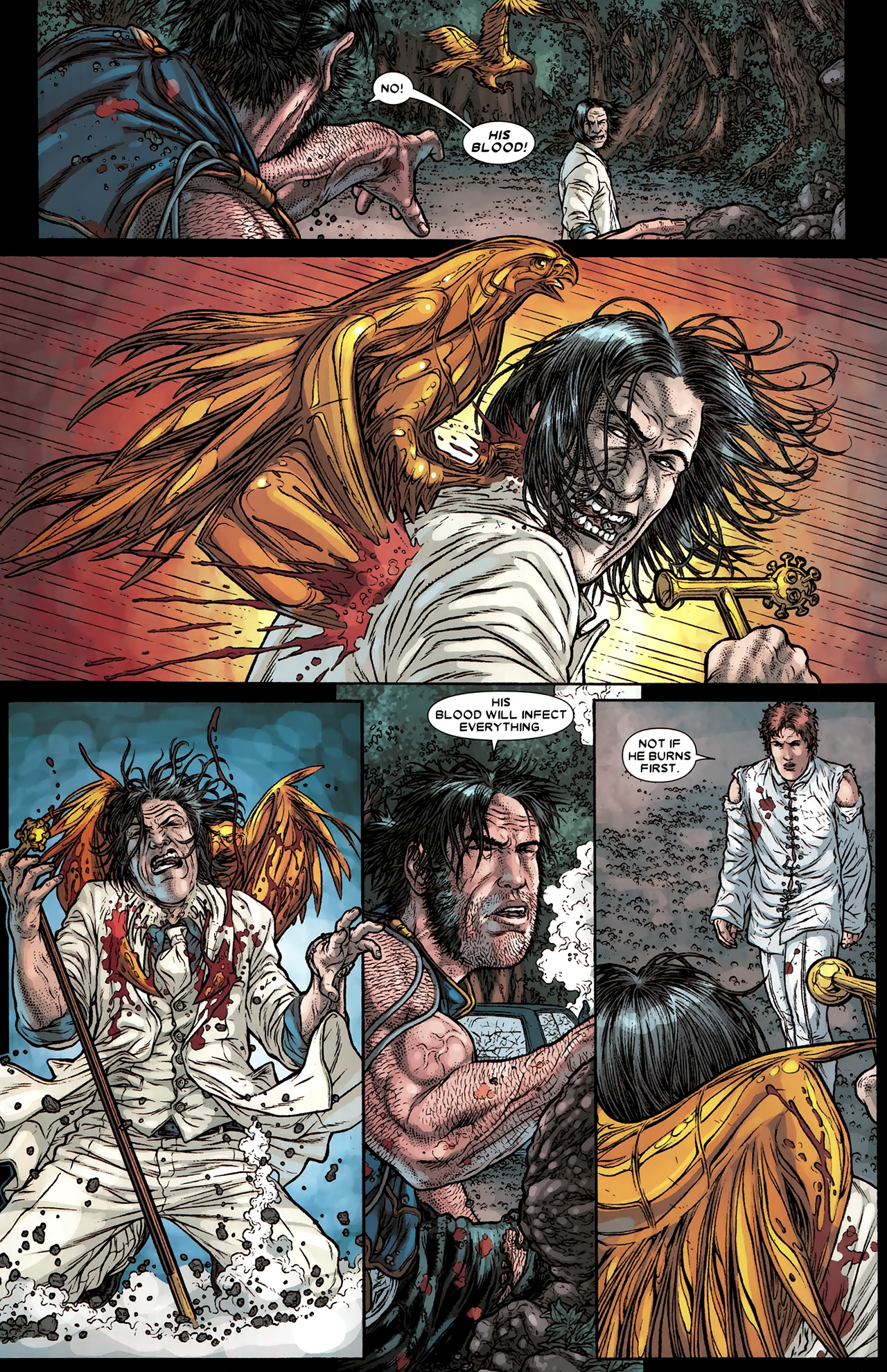 Read online Wolverine: The Best There Is comic -  Issue #10 - 21