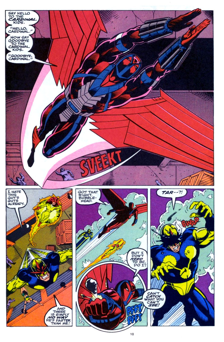 The New Warriors Issue #28 #32 - English 9