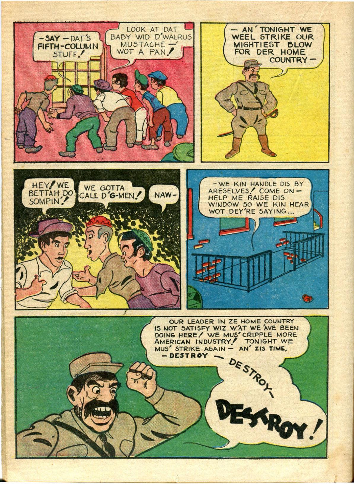 Read online Shadow Comics comic -  Issue #10 - 32